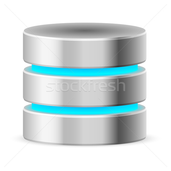 Data base icon Stock photo © dvarg