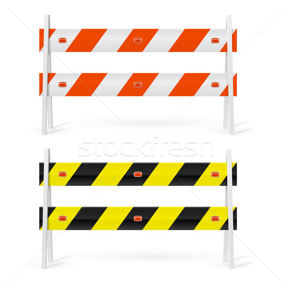 Road barriers Stock photo © dvarg