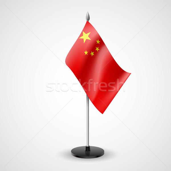 Table flag of China Stock photo © dvarg