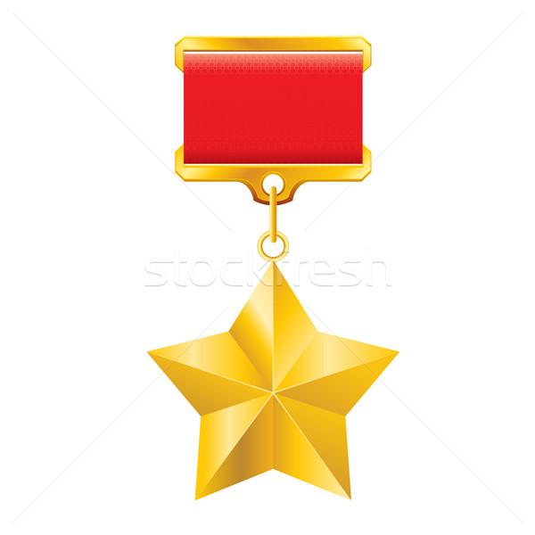 Gold star award Stock photo © dvarg