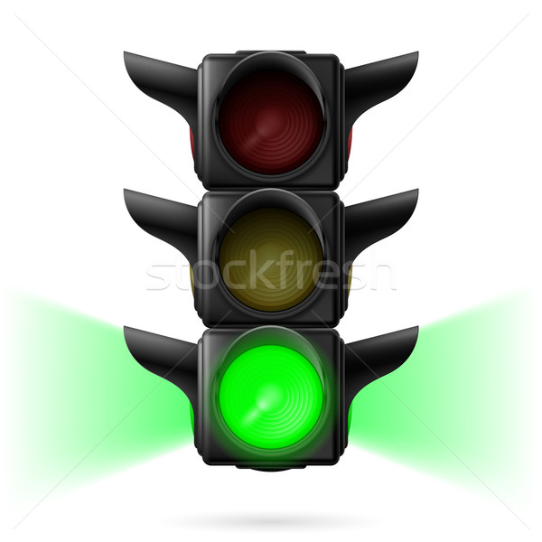Traffic lights Stock photo © dvarg
