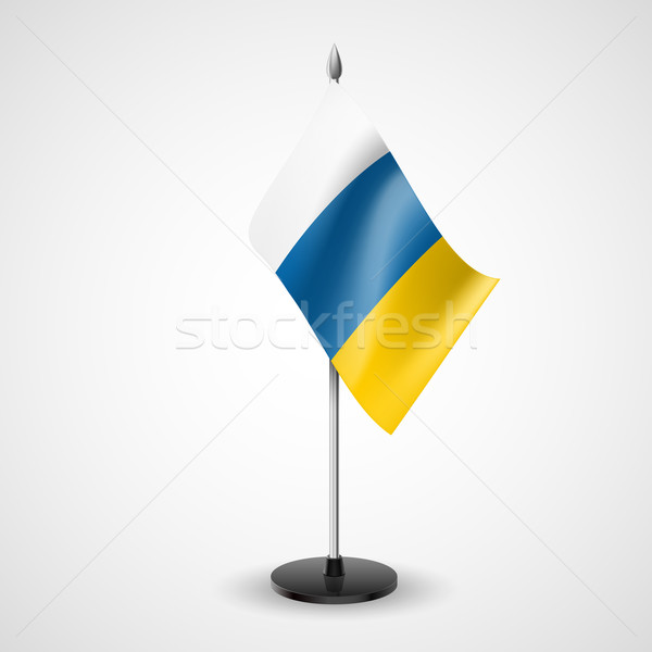Tabela bandeira canárias mundo assinar conferência Foto stock © dvarg