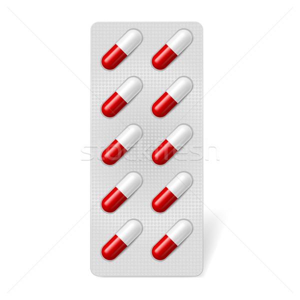 Pill blister Stock photo © dvarg