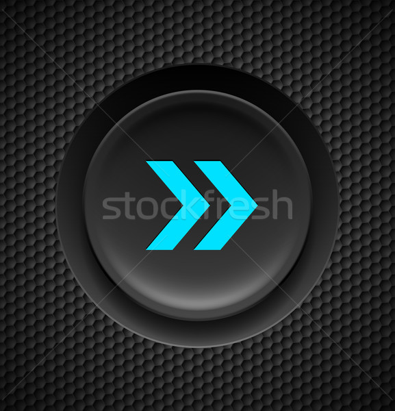 Fast forward button. Stock photo © dvarg