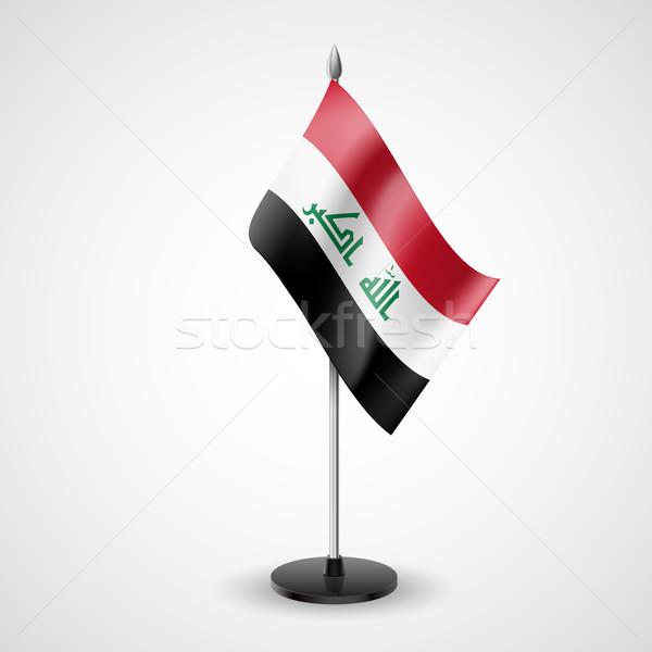 Table flag of Iraq Stock photo © dvarg