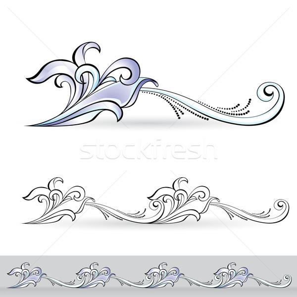 抽象的な フローラ デザイン 番号 3 ストックフォト © dvarg