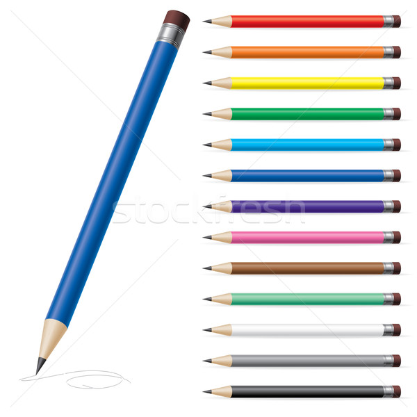 Color pencils #2 Stock photo © dvarg