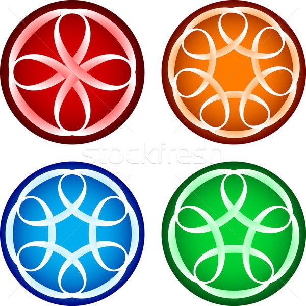 Abstract round forms Stock photo © dvarg