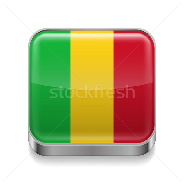 Stock photo: Metal  icon of Mali