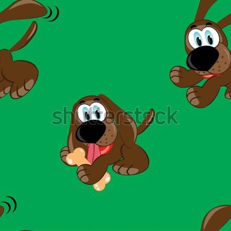 Cartoon puppy. Stock photo © dvarg