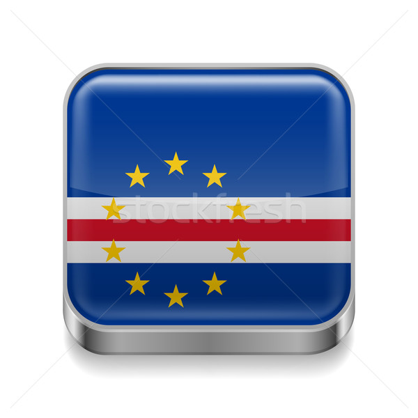 Metal  icon of Cape Verde Stock photo © dvarg