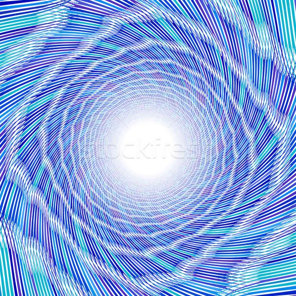 Blue vortex Stock photo © dvarg