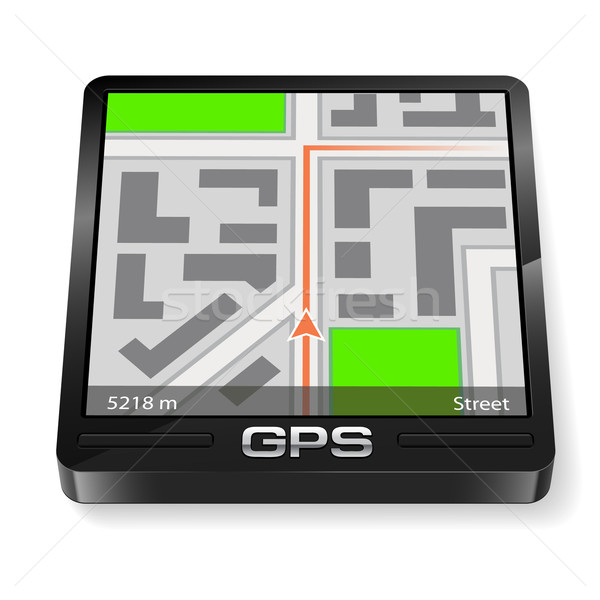 GPS navigator Stock photo © dvarg