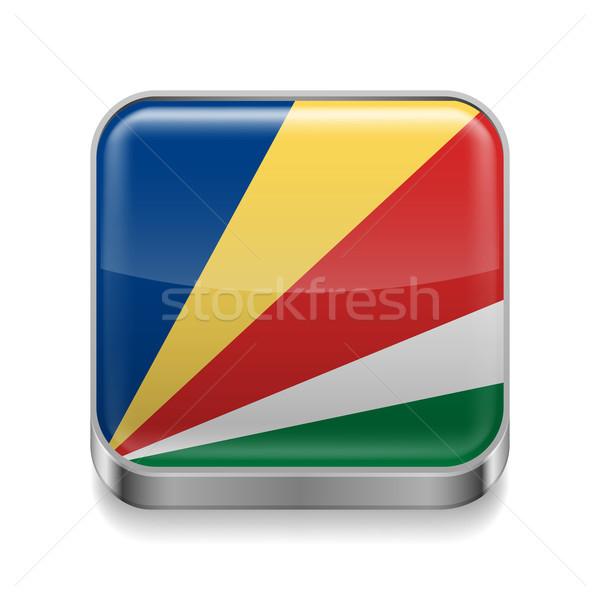 Metal  icon of Seychelles Stock photo © dvarg