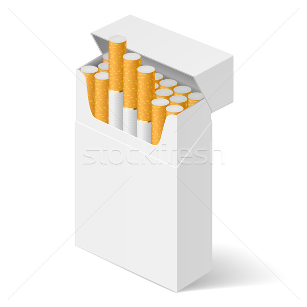 Pack of cigarettes Stock photo © dvarg
