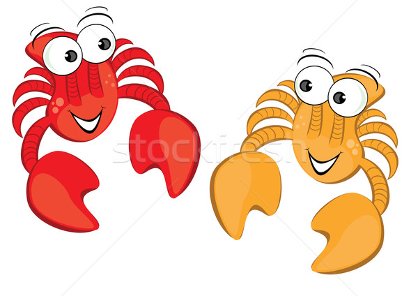 Two funny cartoon crab Stock photo © dvarg