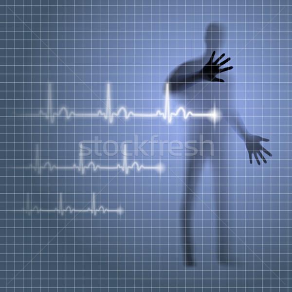 Heartbeat Stock photo © dvarg