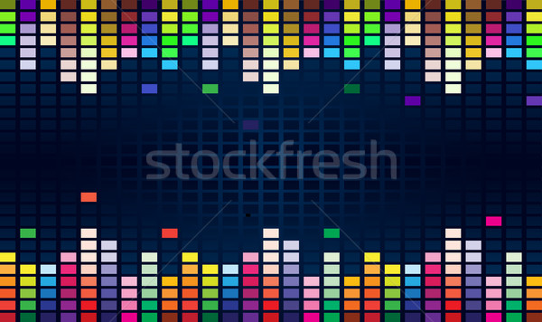 Colorful equalizer Stock photo © dvarg