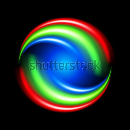 Abstract colorful shape Stock photo © dvarg
