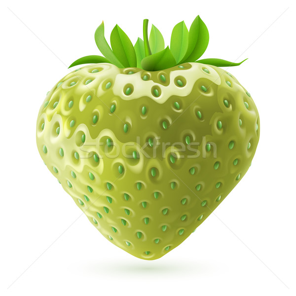 Unripe strawberry Stock photo © dvarg