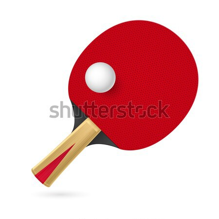 Racket  Stock photo © dvarg