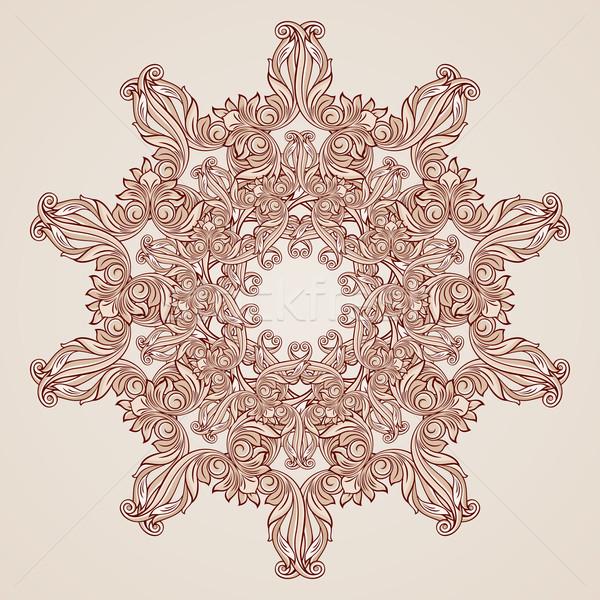 バラ ピンク フローラル パターン 抽象的な パステル ストックフォト © dvarg
