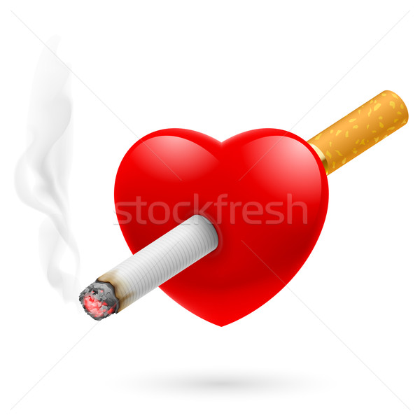 Smoking kill heart Stock photo © dvarg