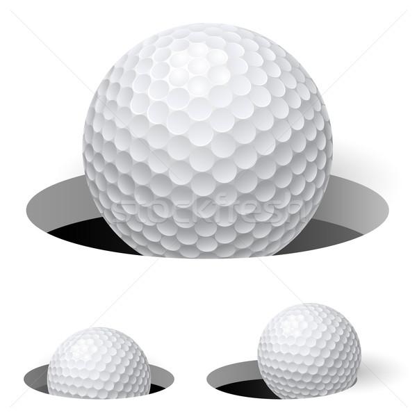 Golf örnek beyaz dizayn arka plan Stok fotoğraf © dvarg
