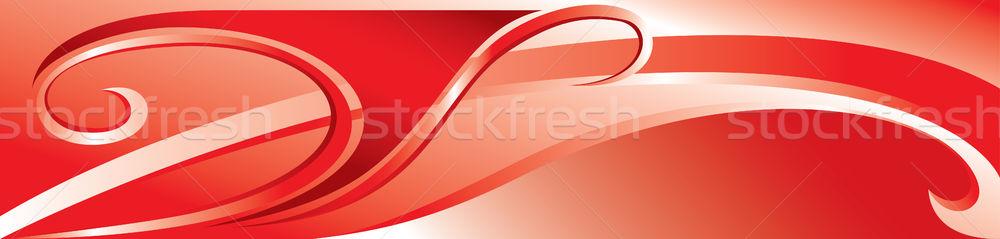 Vektor rot Fanfare Textur Natur Design Stock foto © dvarg
