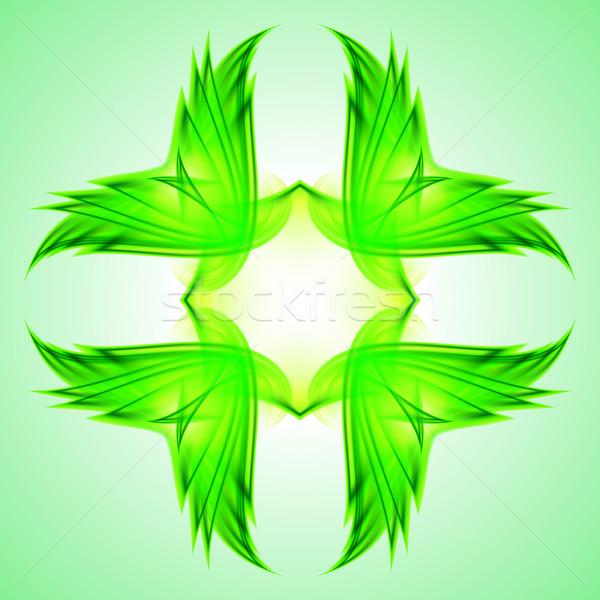 Abstração verde símbolo ilustração web design projeto Foto stock © dvarg