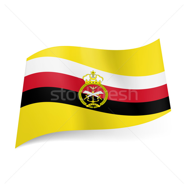 Armed Forces flag of Brunei Stock photo © dvarg