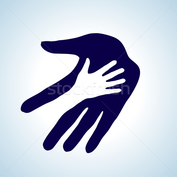 Helping hand. Stock photo © dvarg