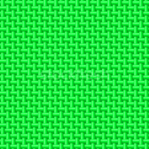 Green cloth texture Stock photo © dvarg