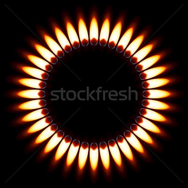 Gas Flame. Stock photo © dvarg