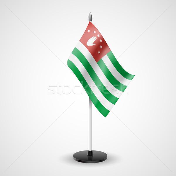 Table flag of Abkhazia Stock photo © dvarg
