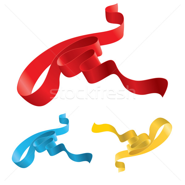 Set of ribbons  Stock photo © dvarg
