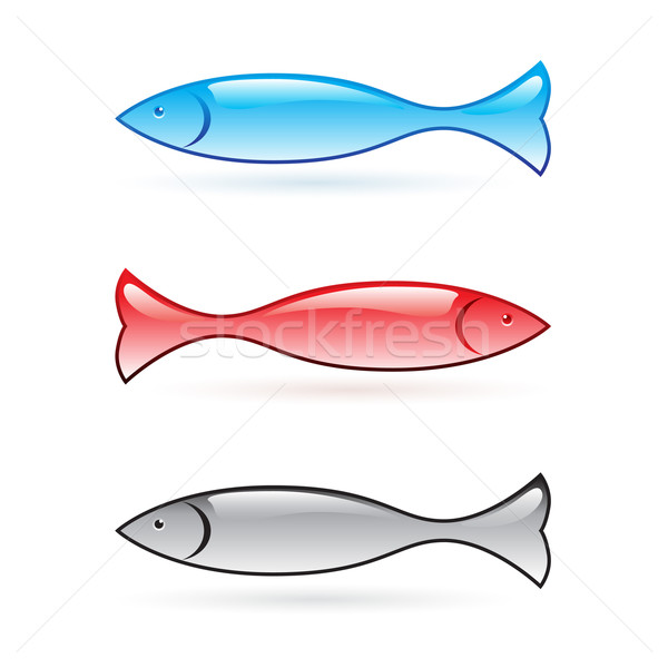 Abstract fish. Stock photo © dvarg