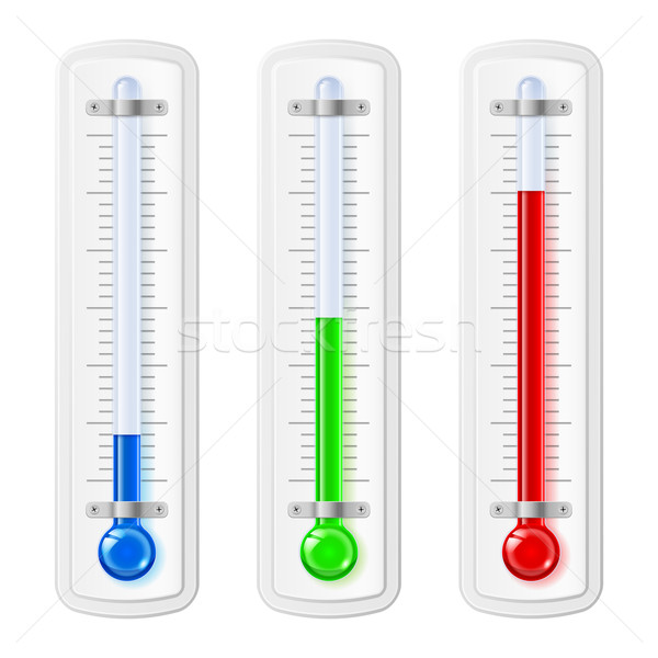 Temperature indicators Stock photo © dvarg