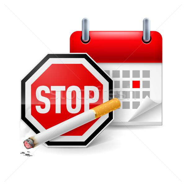 No smoking day icon Stock photo © dvarg