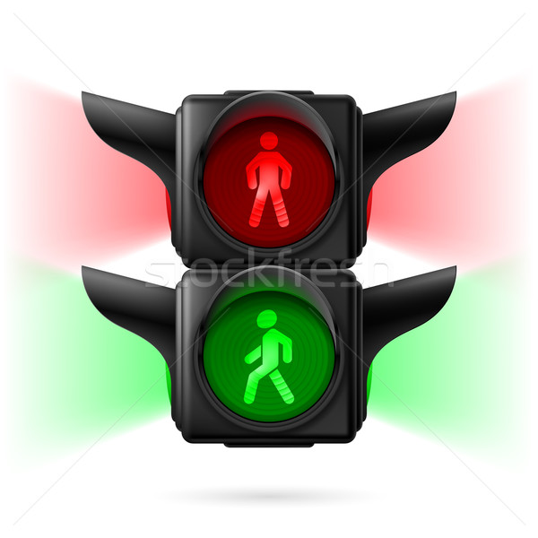 Pedestrian traffic lights Stock photo © dvarg