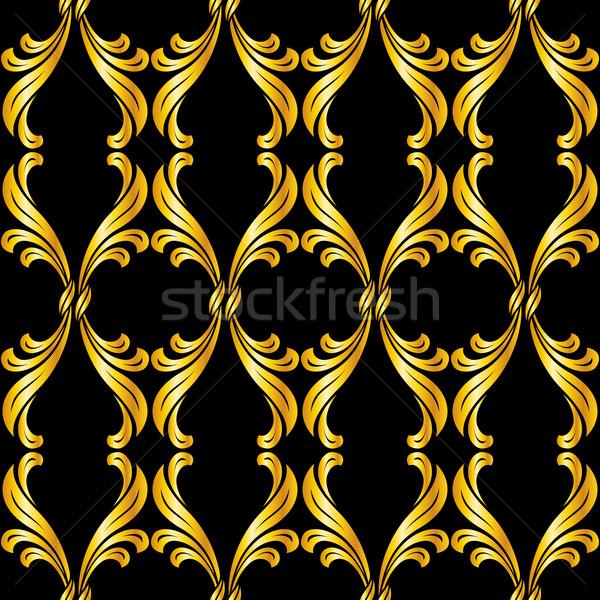 Seamless floral pattern Stock photo © dvarg