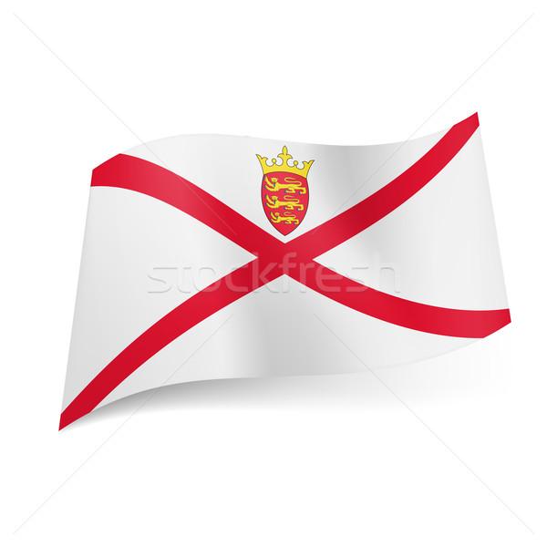 Flag of Jersey Stock photo © dvarg