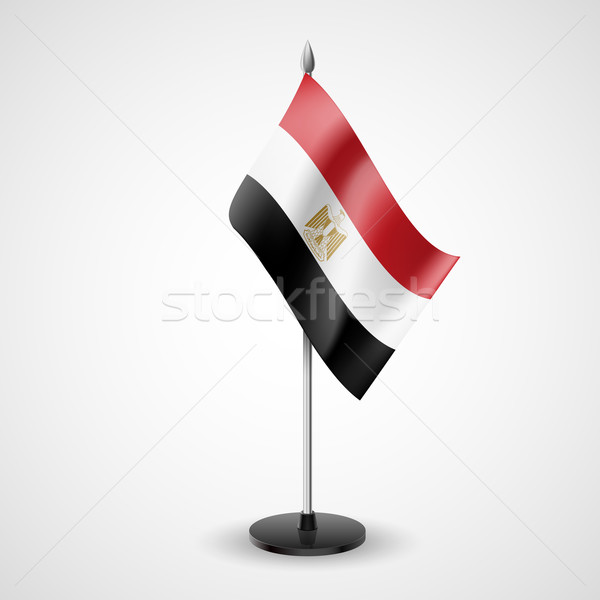 Table flag of Egypt Stock photo © dvarg