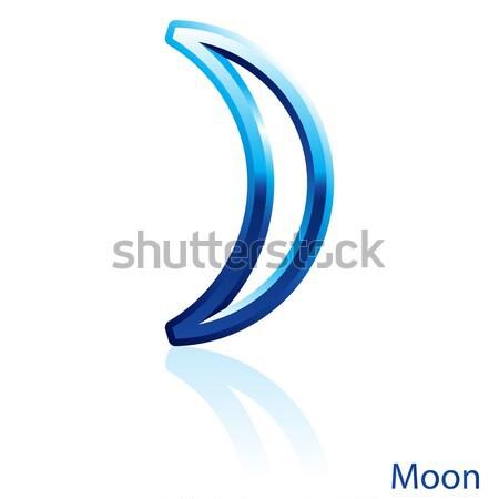 Moon sign. Stock photo © dvarg