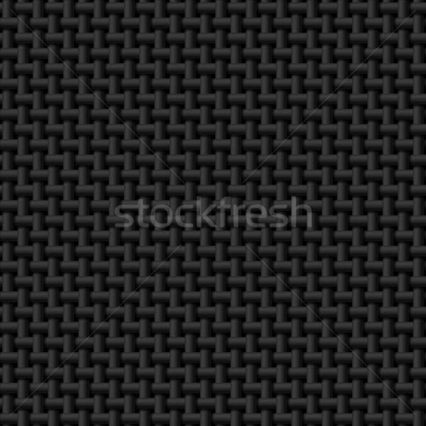 Black cloth texture Stock photo © dvarg
