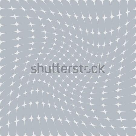 Stock fotó: Absztrakt · csillag · szürke · fehér · nézőpont · hatás