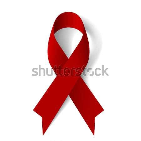 Burgundy ribbon Stock photo © dvarg