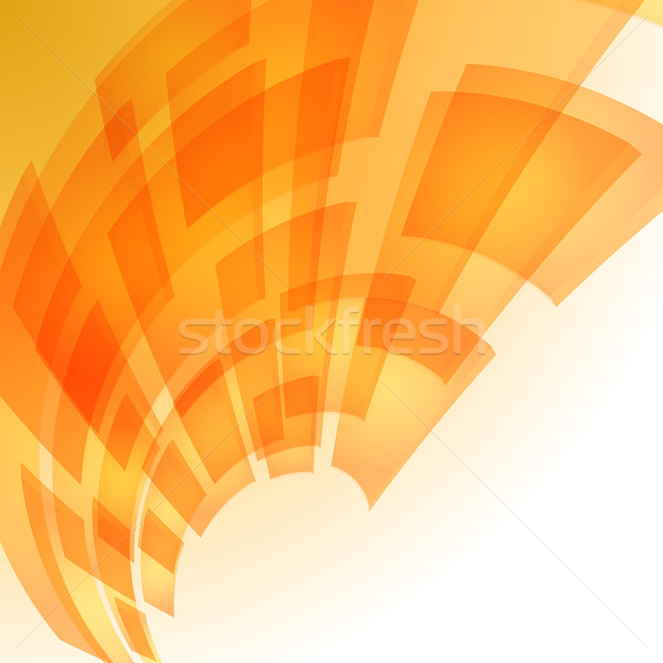Abstract orange digital background Stock photo © dvarg