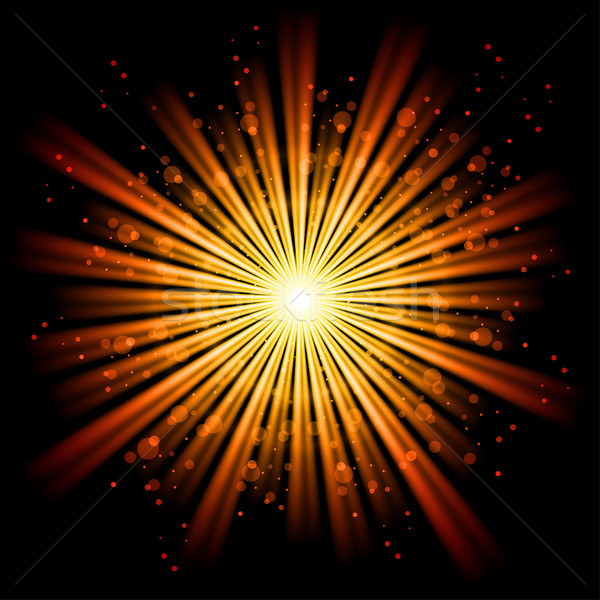Stock photo: Abstract light