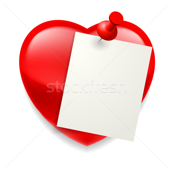 Love message Stock photo © dvarg